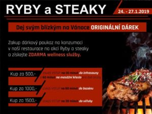 Ryby a steaky 24.-27.1.2019